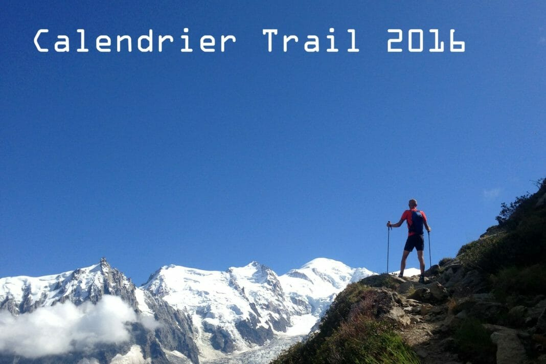 Calendrier Trail 2016