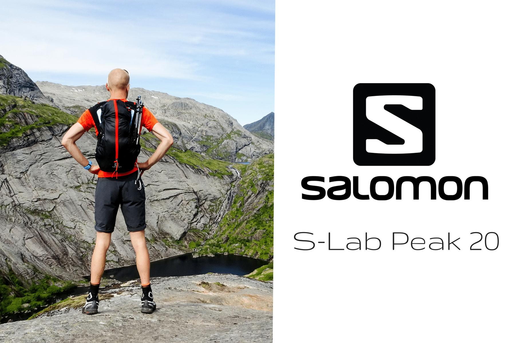 Salomon S-Lab Peak 20 : Test
