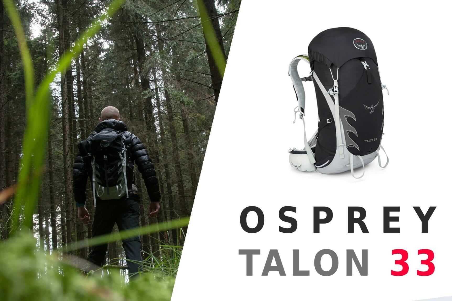 Test : Osprey Talon 33 – le sac-à-dos polyvalent