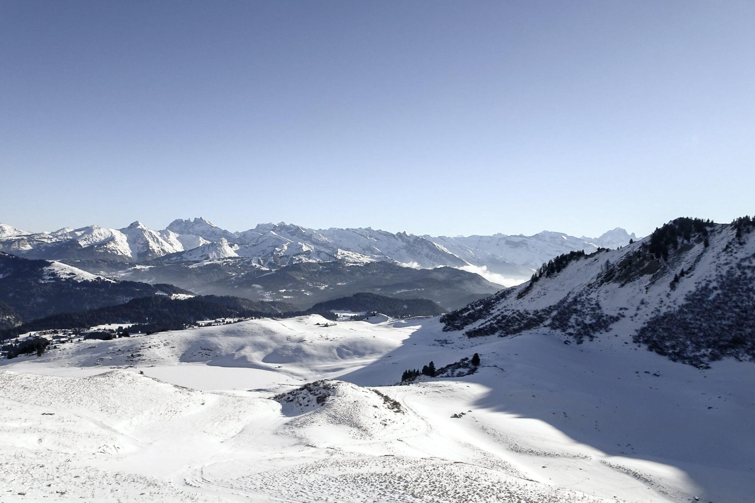Trail Blanc Praz-de-Lys