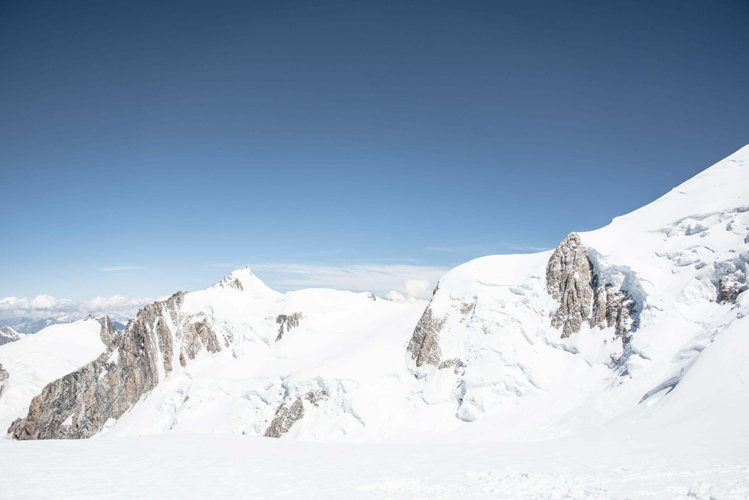 mon ascension du mont blanc les sentiers du