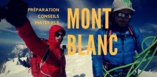 Préparation pour l'ascension du Mont Blanc