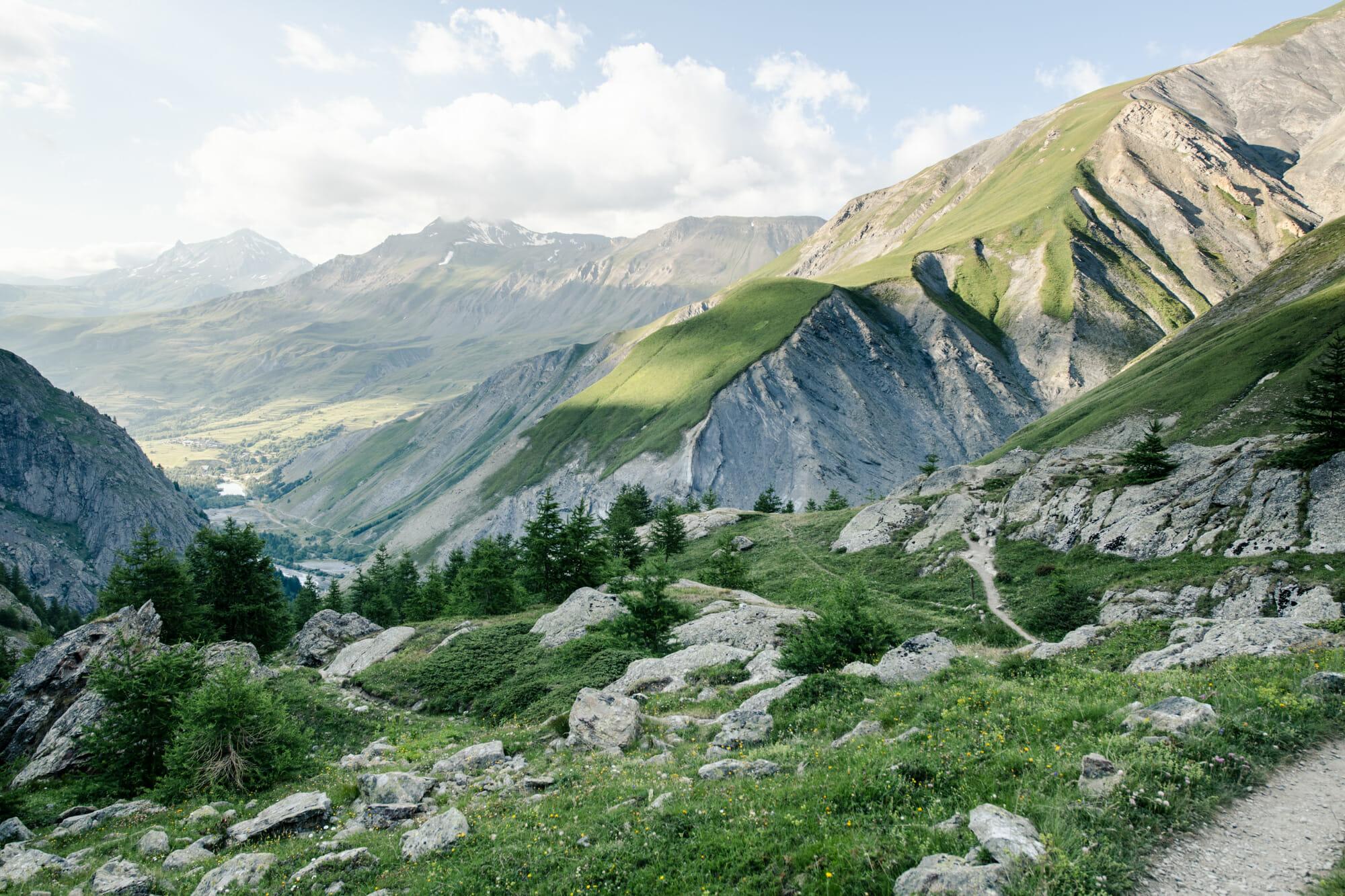 Randonnée dans les Écrins - Le Refuge du Pavé