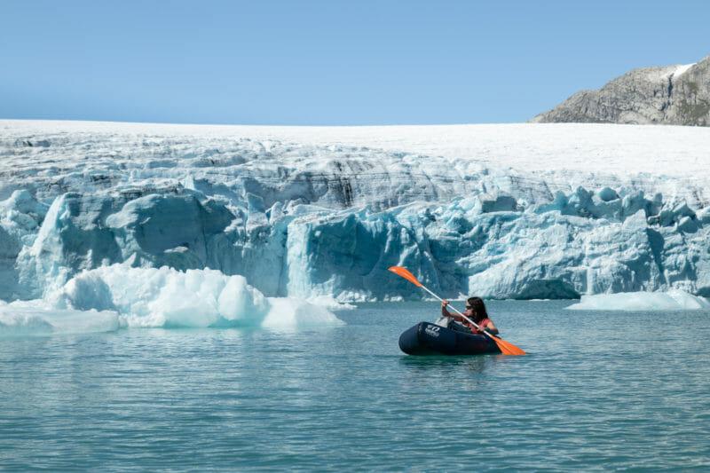 Jostedalsbreen : Packraft et rando glaciaire en Norvège
