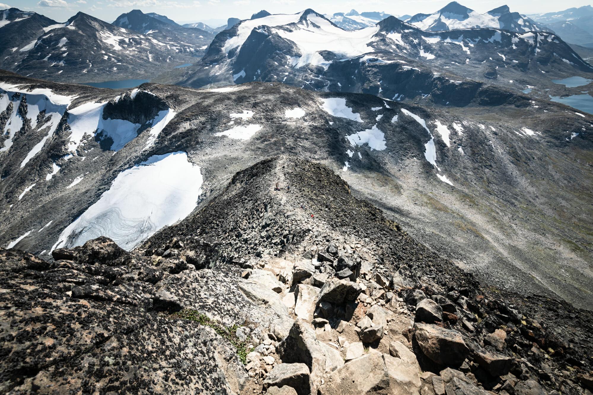 Jotunheimen : Ascension du Kyrkja