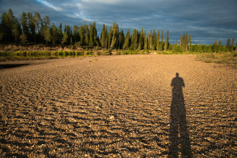 Bivouaquer au coeur de la forêt laponne - Packraft sur la rivière Oulanka - Itinéraire de 7 jours en Laponie finlandaise
