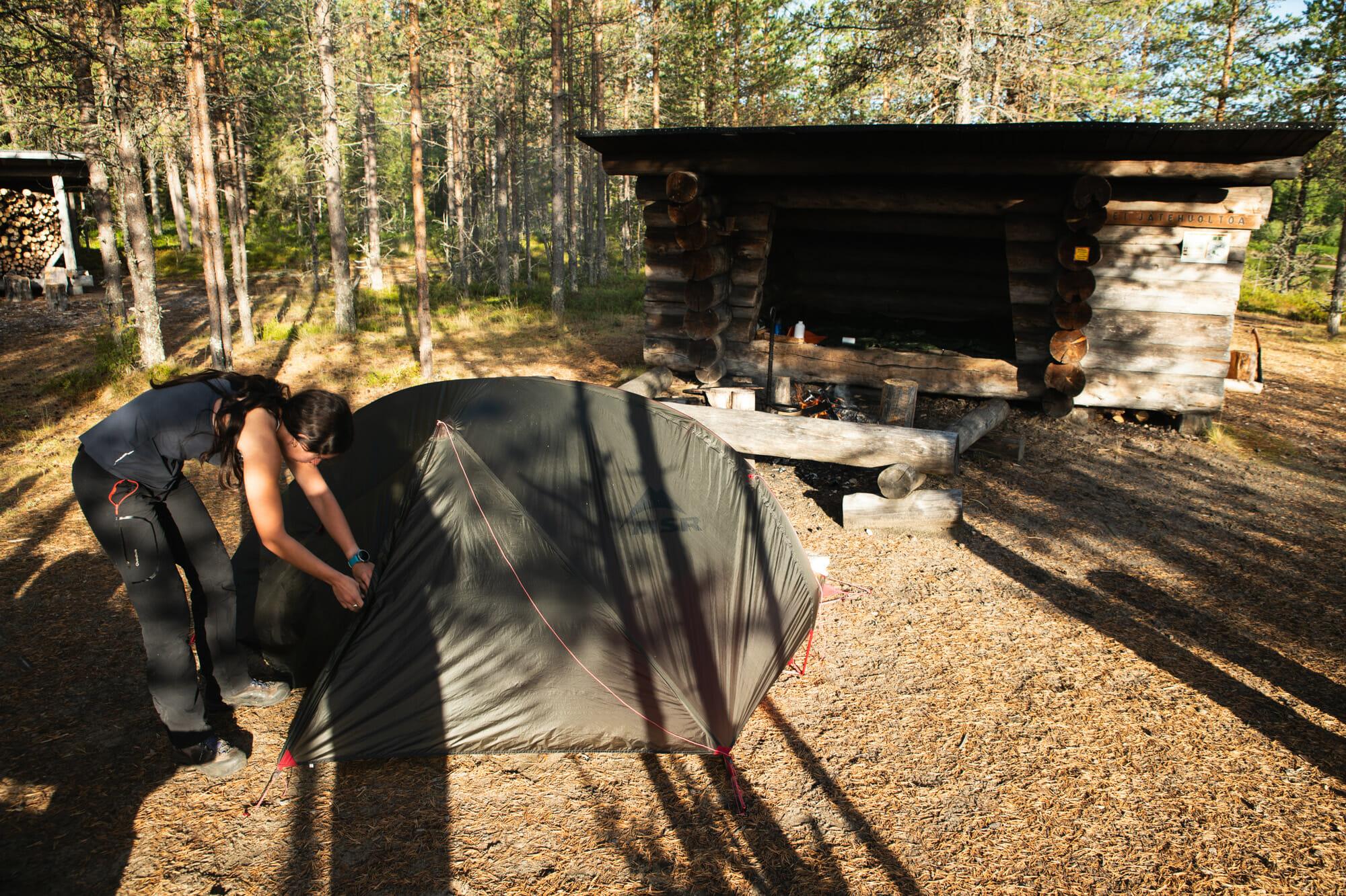 Packraft sur la rivière Oulanka - Laponie finlandaise - Bivouaquer au coeur de la forêt laponne - parcs nationaux finlandais