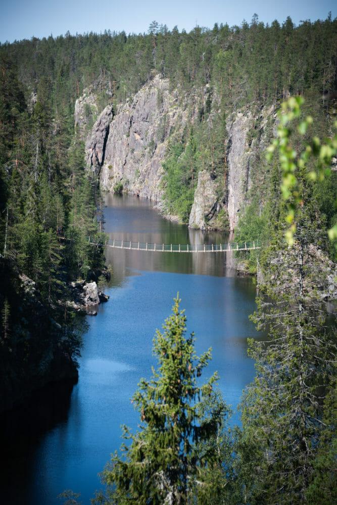 itinéraire de 7 jours en Laponie finlandaise