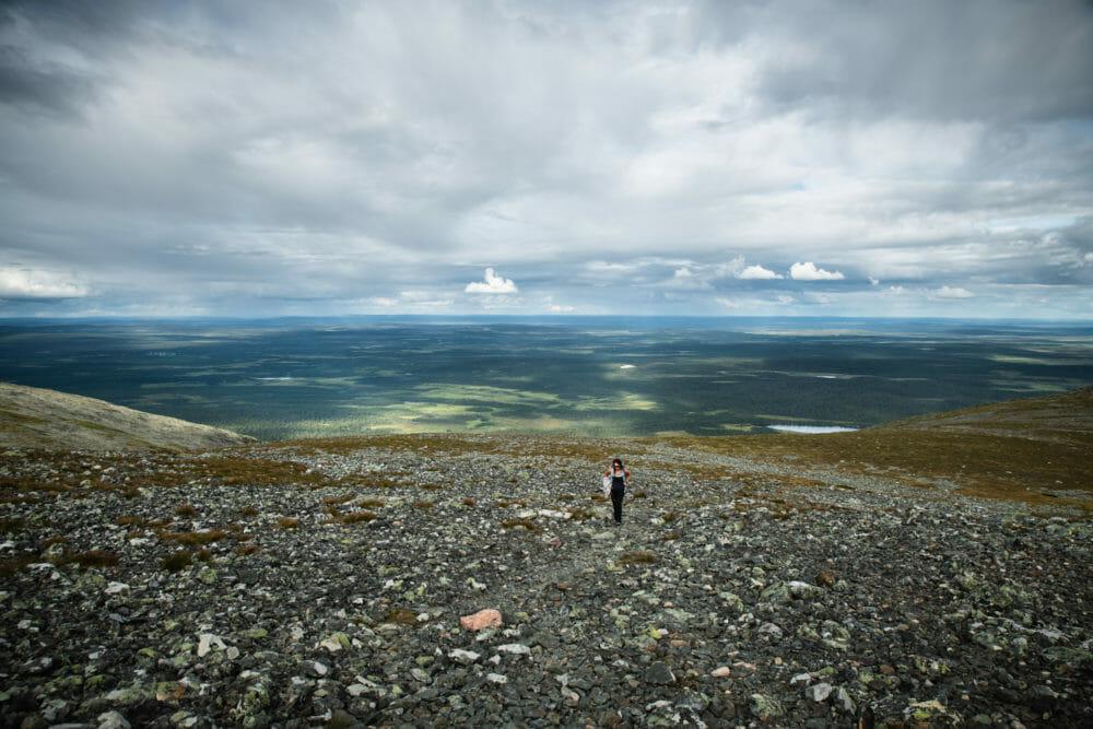 Randonnée au coeur de Pallastuntunri en Laponie finlandaise, Itinéraire de 7 jours en Laponie, parcs nationaux finlandais