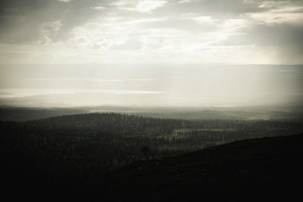 Randonnée au coeur de Pallastuntunri en Laponie finlandaise
