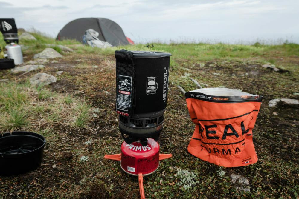 Repas Lyophilisé dans les Lofoten, lyophilise & co, nourriture en trekking