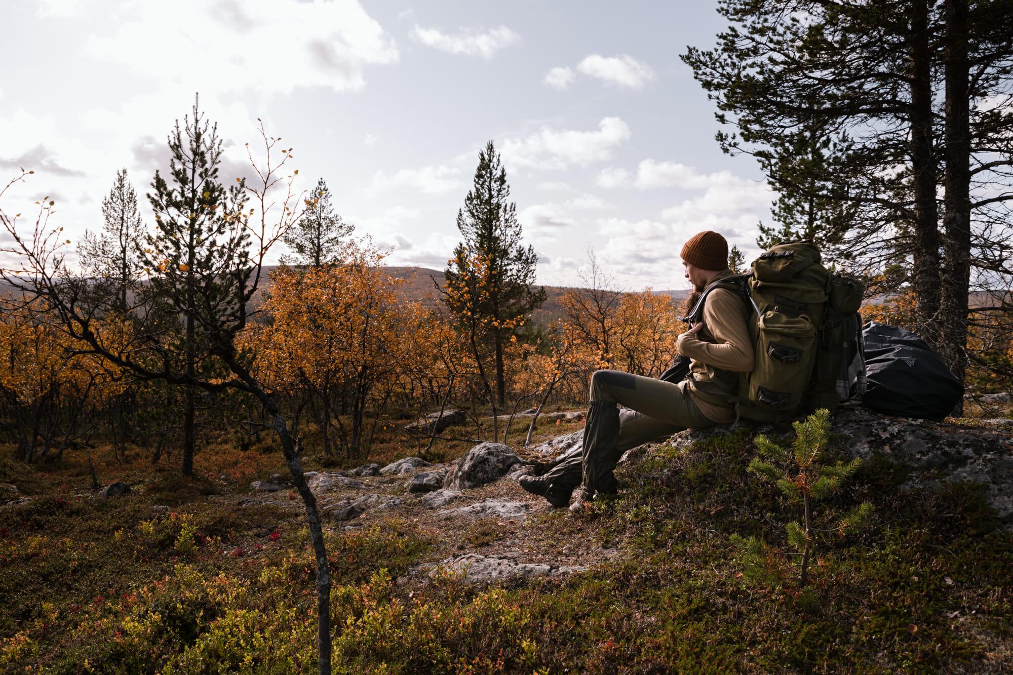 Zone sauvage d'Hammastunturi en Laponie finlandaise