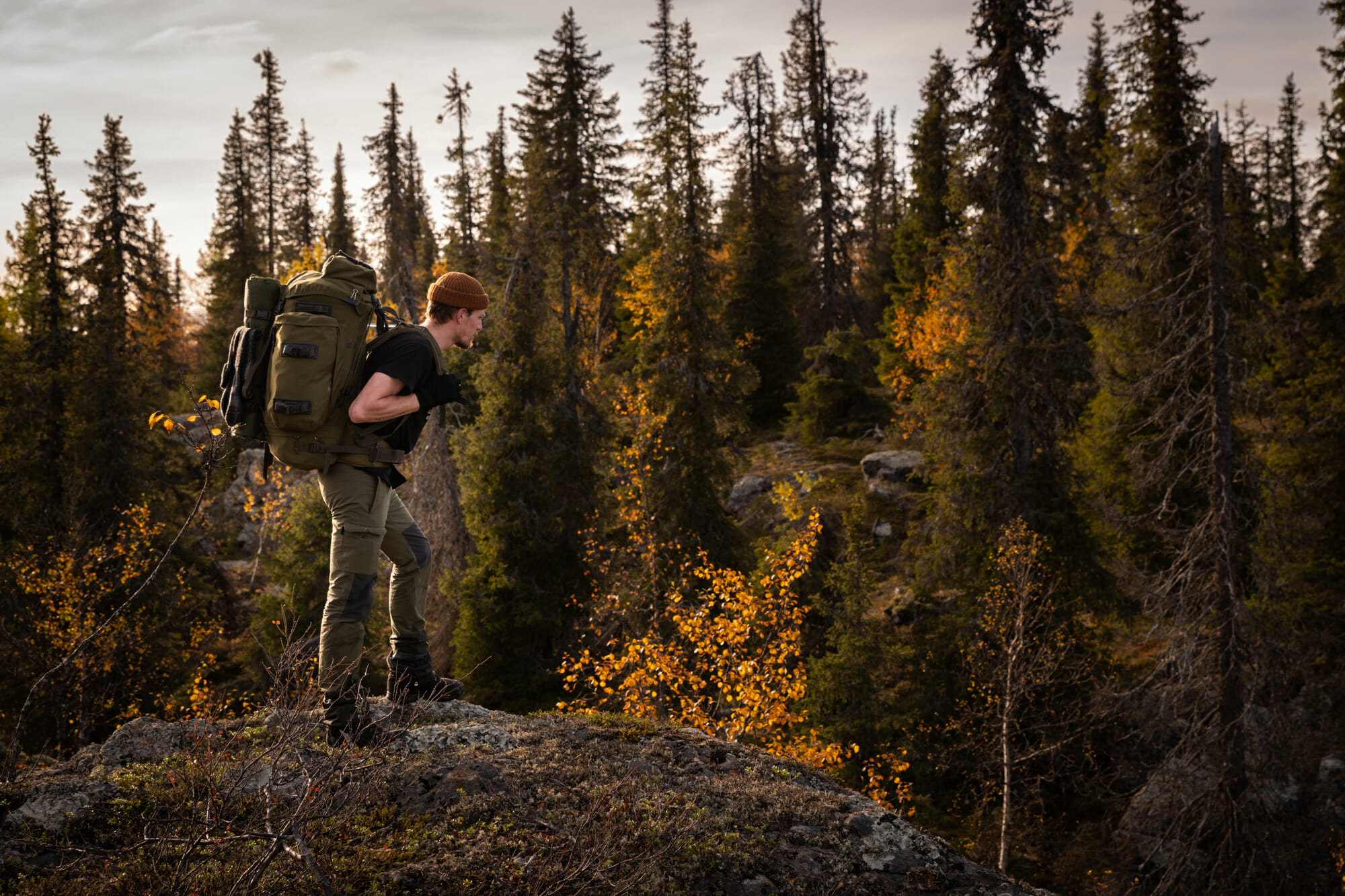 Canyon en Laponie finlandaise