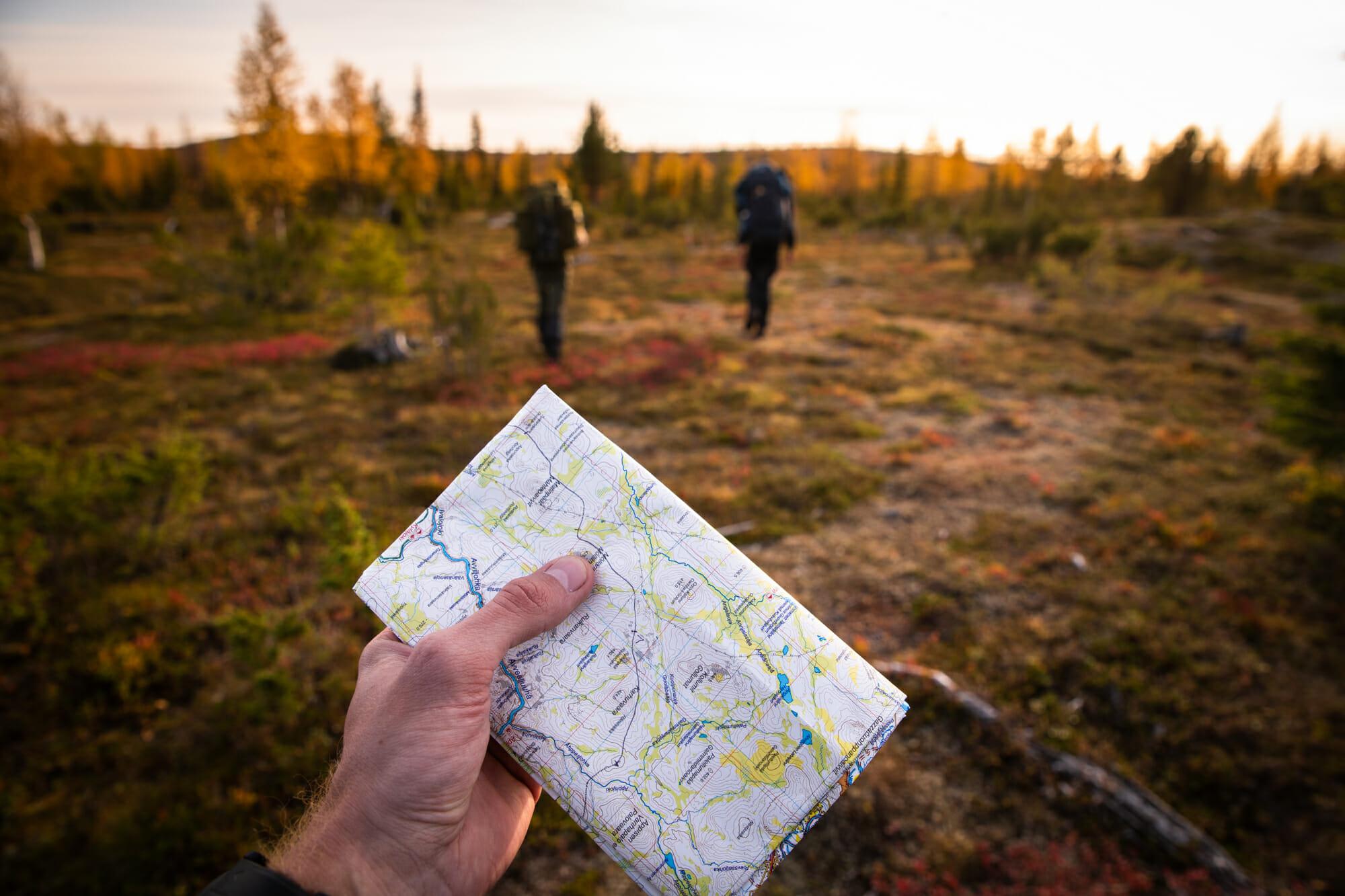 Orientation en Laponie finlandaise