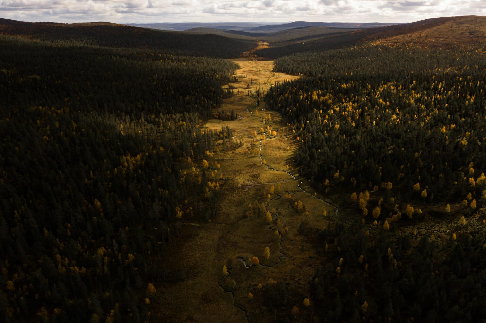 Horizon infini en Lapinie finlandaise