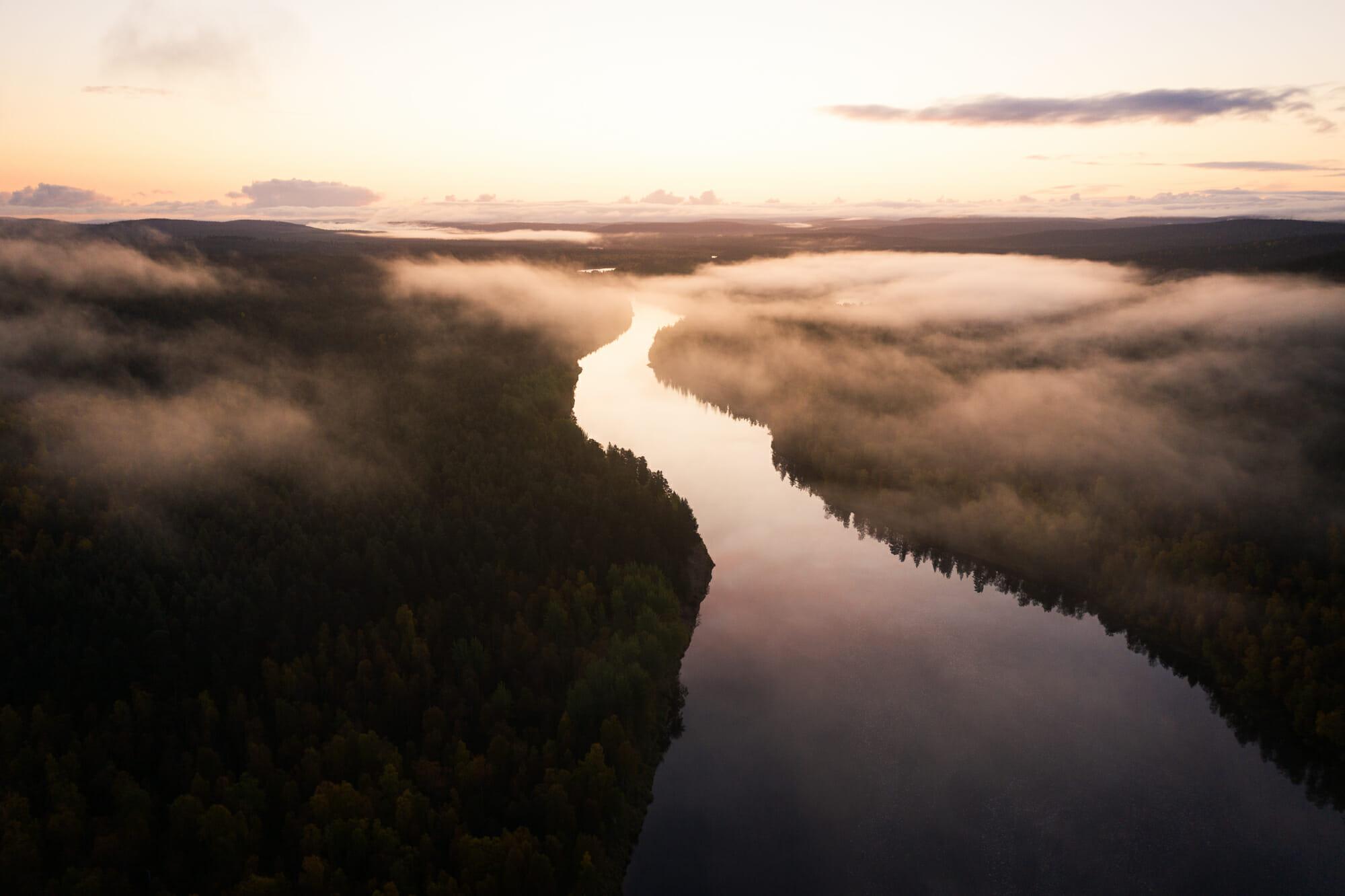 zone sauvage d'Hammastunturi, Ivalojoki