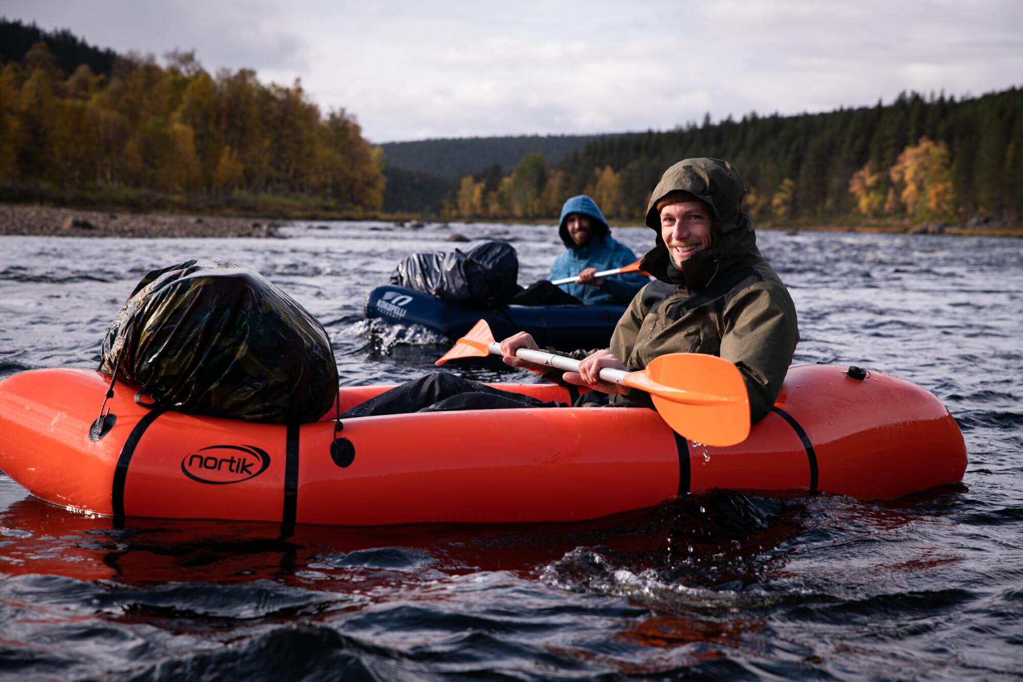 La compagnie belge, Ivalojoki en packraft