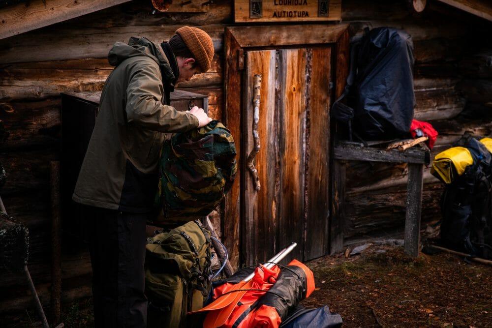 Cabane en Finlande