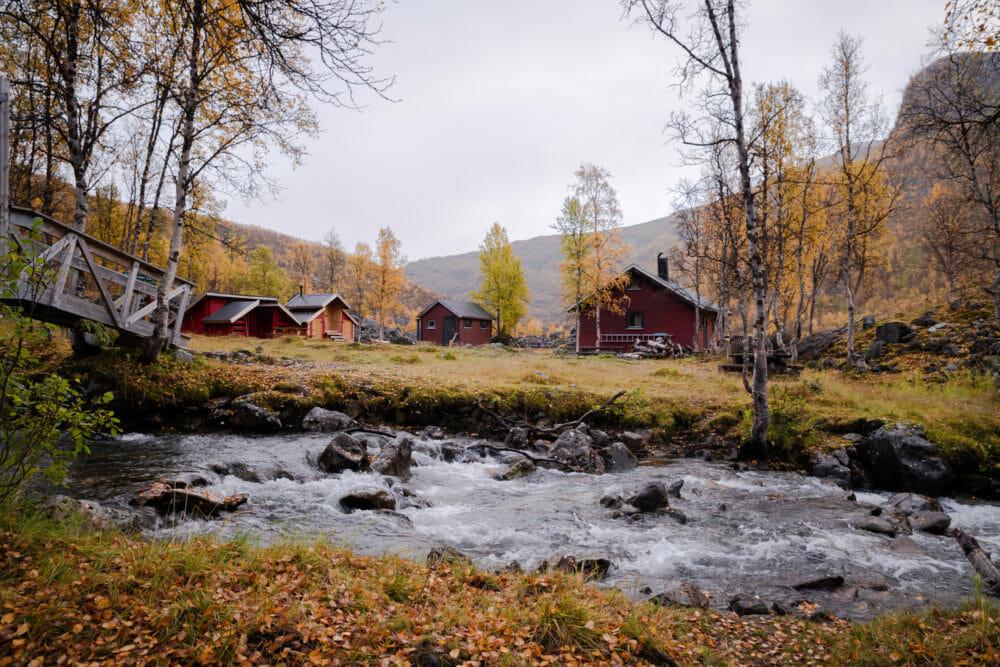 Vers le glacier de Steindalen