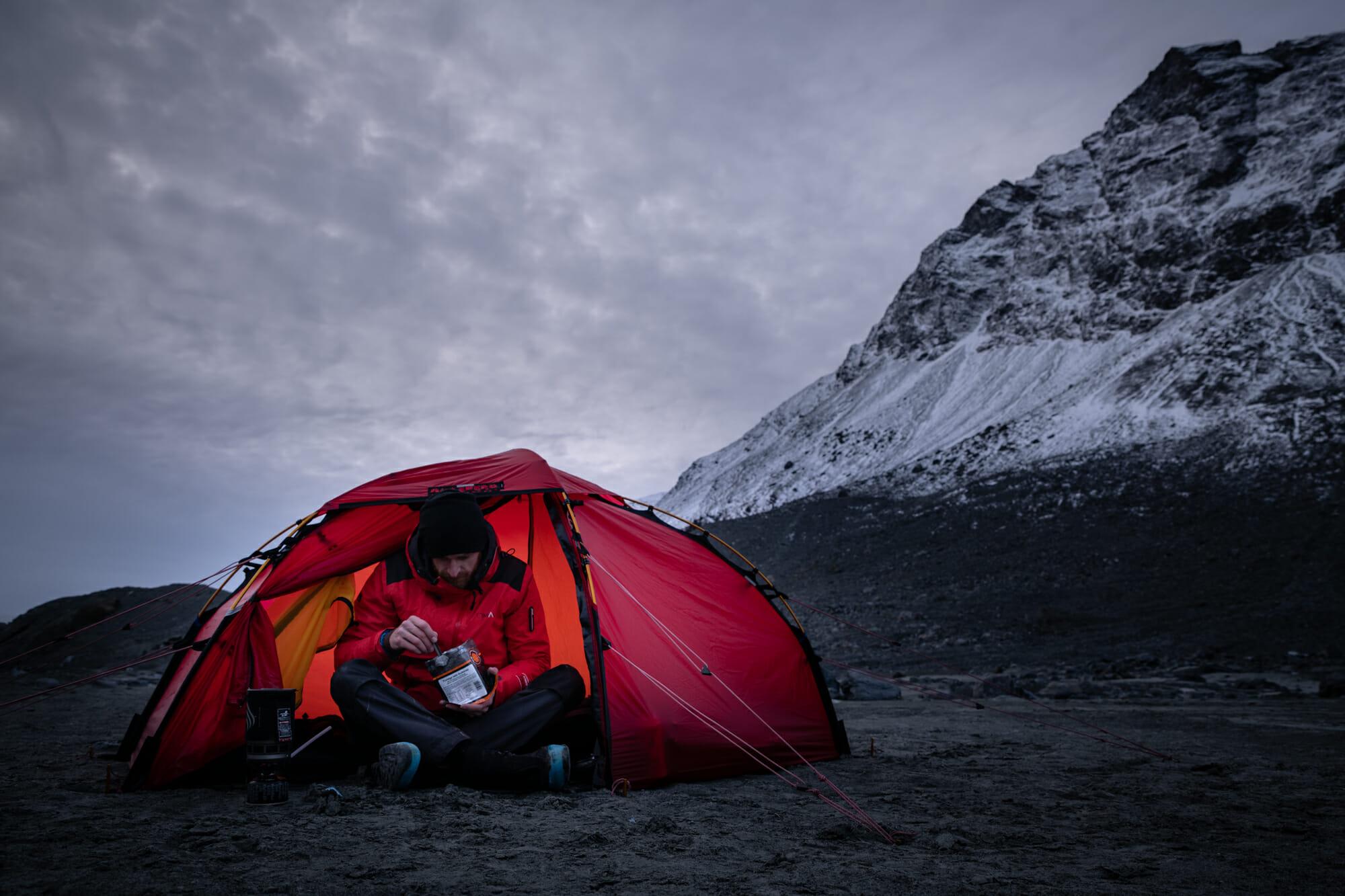 Tente Hilleberg en Norvège