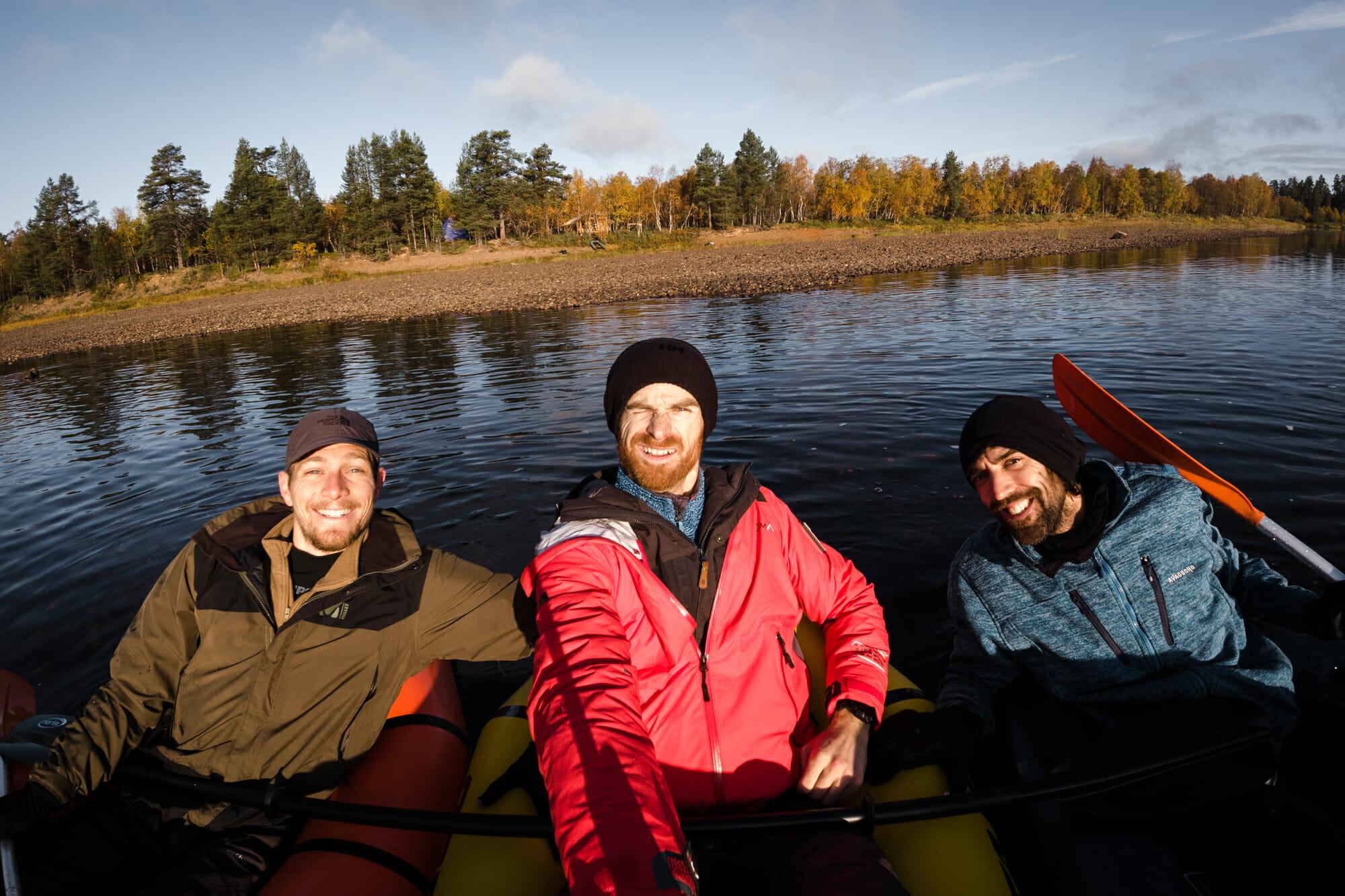 Ivalojoki en packraft
