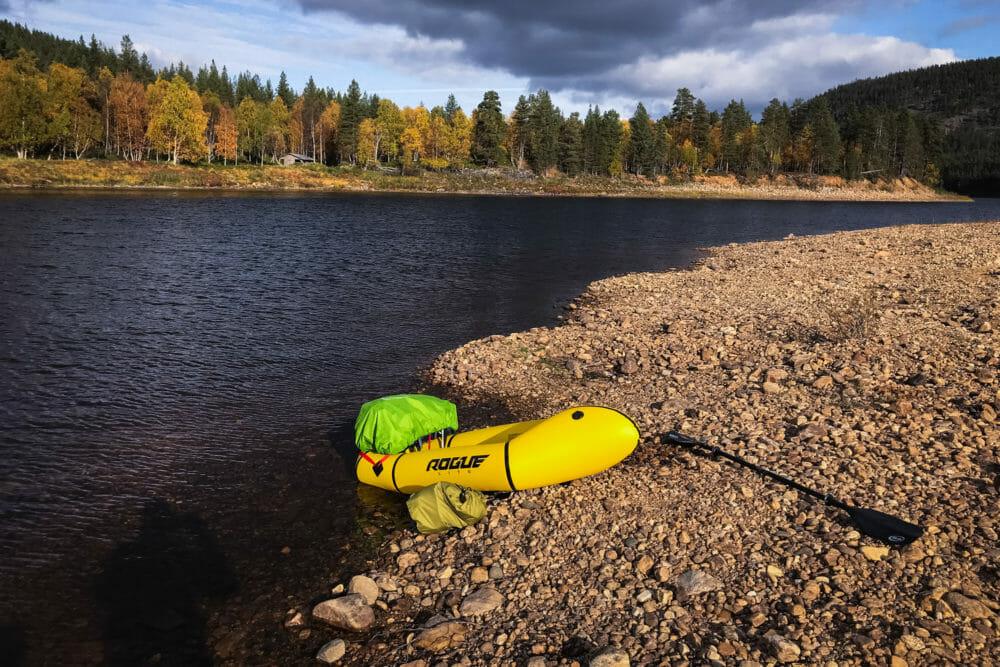 Kokopelli Rogue, Ivalojoki en Packraft, Laponie finlandaise, Zone sauvage d'Hammastunturi