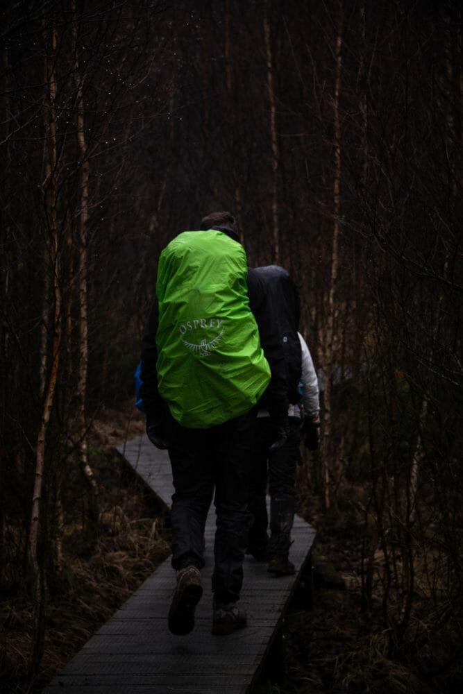 Randonneurs en Ardenne
