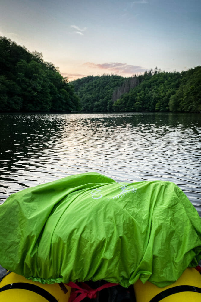 Packraft Lac de Nisramont