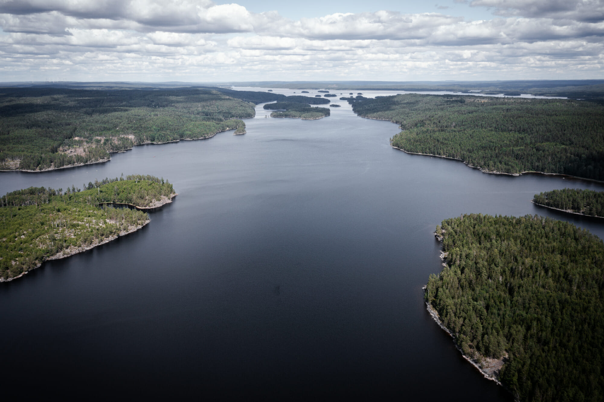 Panorama dans le Värmland