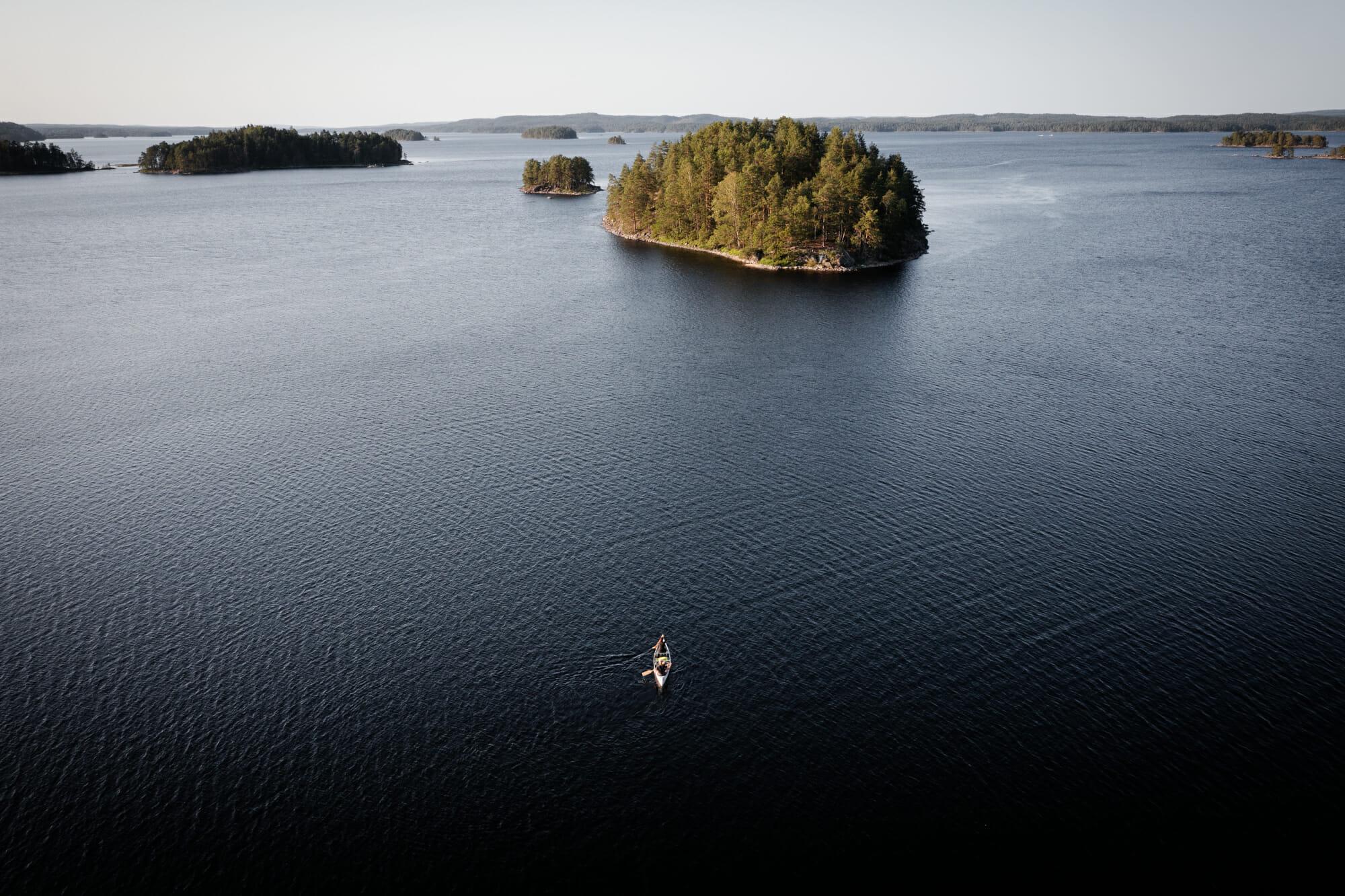 Canoë Trip dans le Värmland
