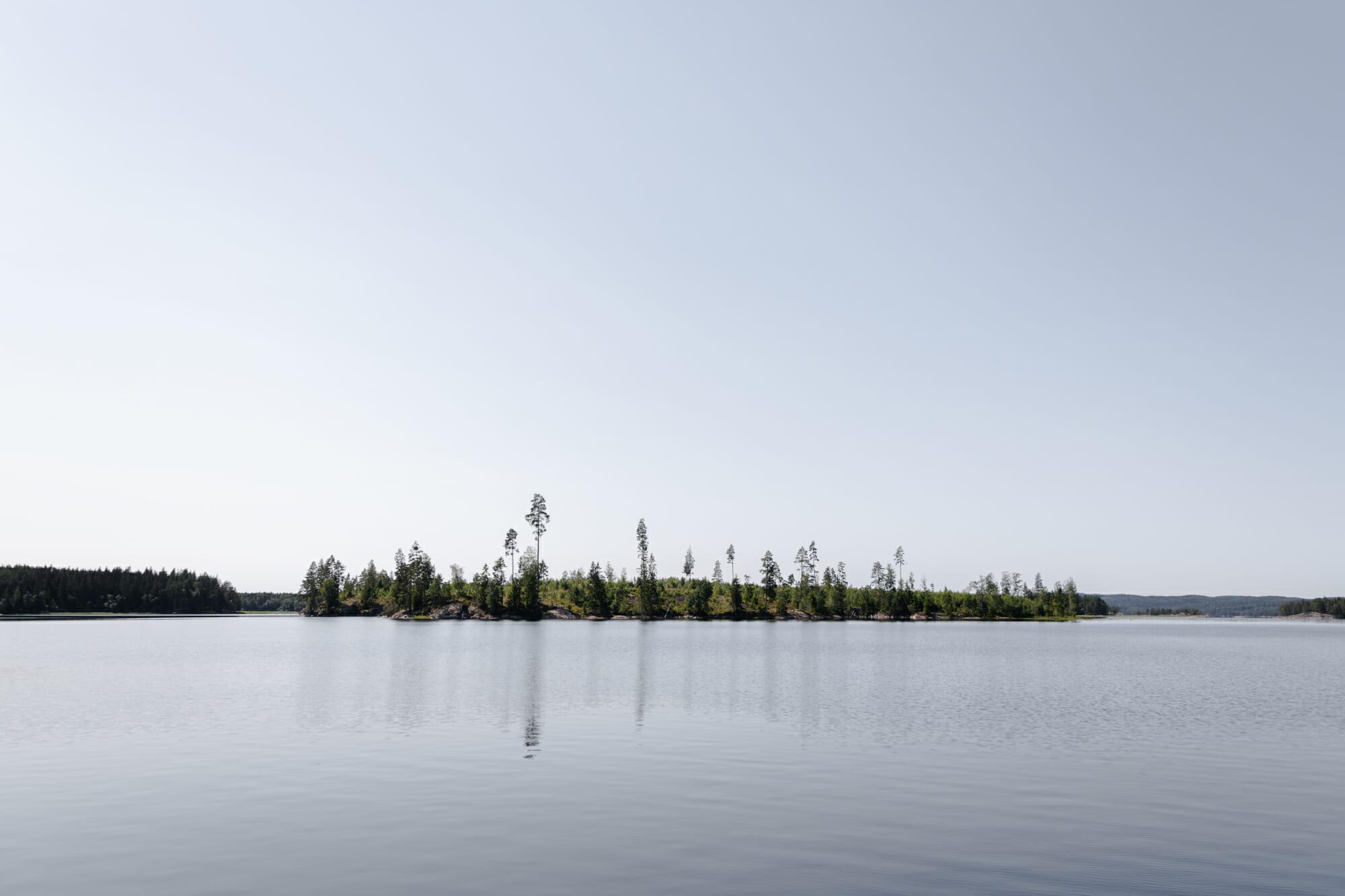 Etendue du lac dans le Värmland