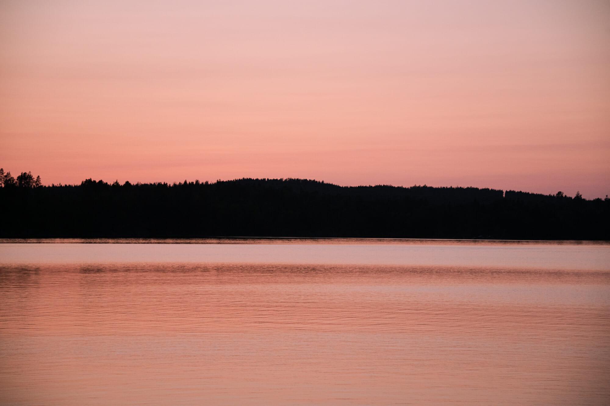 Crépuscule dans le Värmland